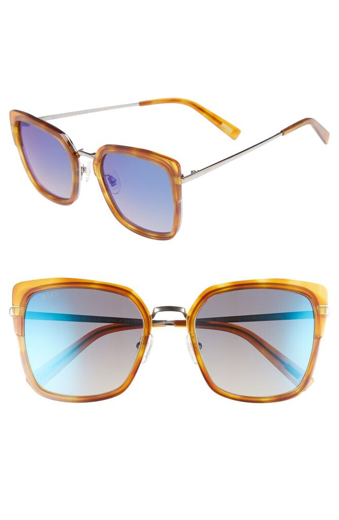 DIFF, Skye Round Sunglasses , $56.90, After Sale $85